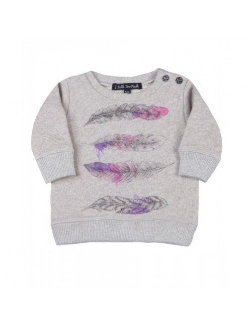 Sudadera I Talk Too Much Doris moda-infantil-diferente-alternativa-divertida-comoda-origina niñal