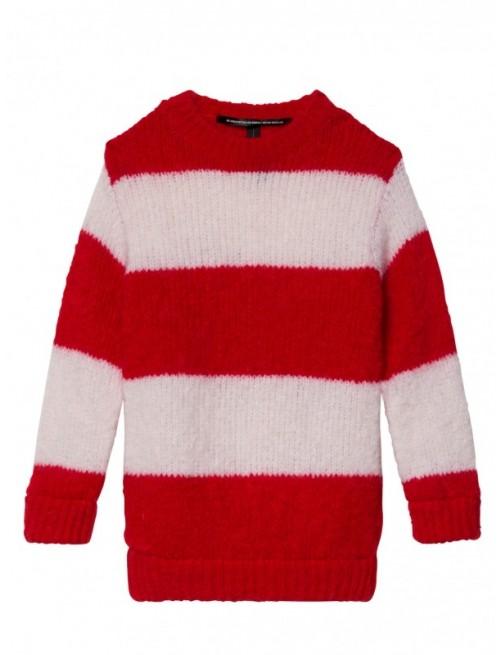 Jersey 10Days Sweater Dark Fluor Red  Moda Infantil Urbana Casual Zaragoza Tienda Online Niñas