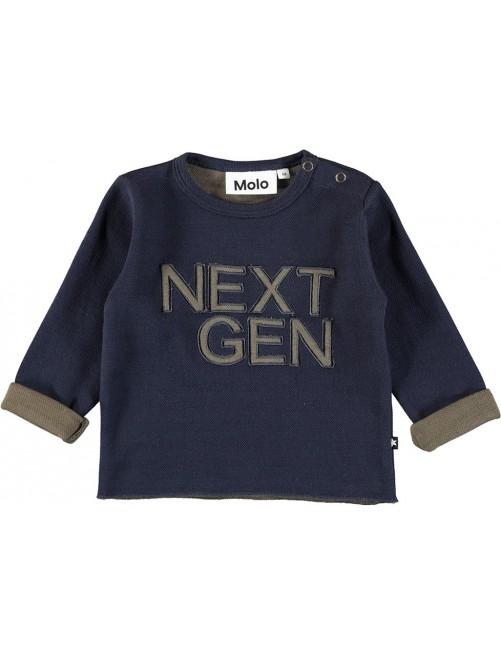 Jersey Molo KidsDew Dark Navy Tienda Zaragoza Moda Infantil Bebe Online