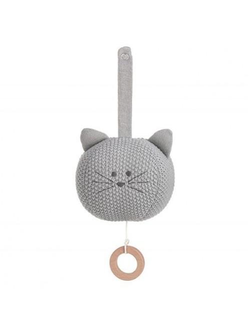 Juguete-musical-punto-cat-gris-lassig-gots-olmitos-bebe-accesorios-puericultura-tienda-online-zaragoza