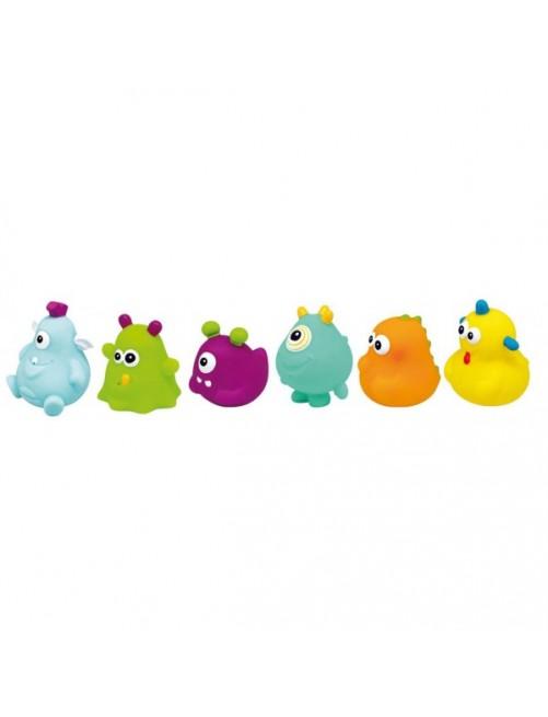 Set de 6 Juguetes Baño Happy Monster Olmitos