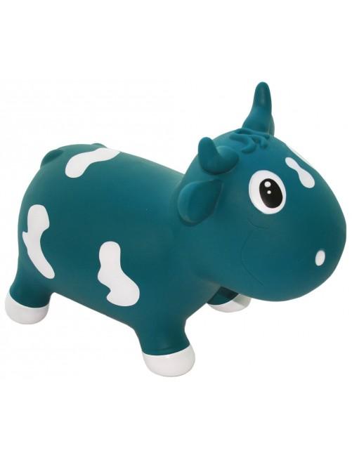 Bella the cow (Azul Petrolio) puericultura zaragoza regalos bebe accesorios motricidad