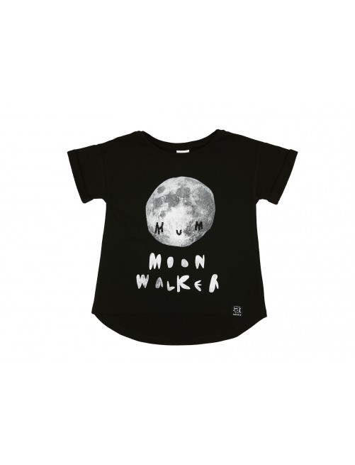 Camiseta Black Moon Walker Kukukid Cotton
