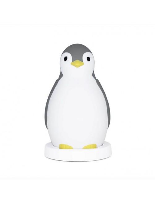 Lampara Quitamiedos Pam Pingüino Zazu Gris. Puericultura zaragoza