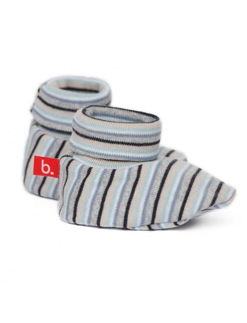 Patucos, botitas Limobasics Stripe Azul