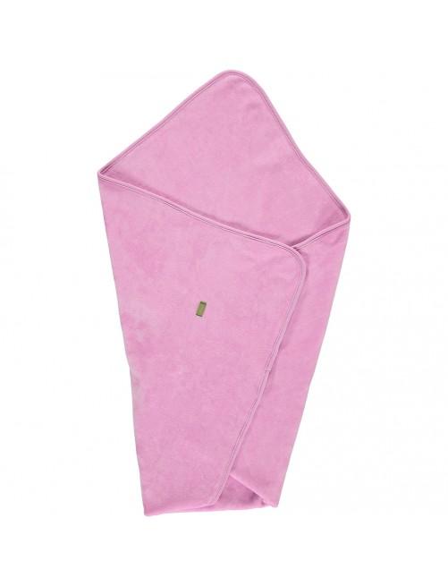 Manta arrullo Limobasics Terciopelo Rosa Vintage bebe Algodón Organico