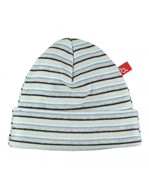 Gorro redondo Limobasics Stripe Azul