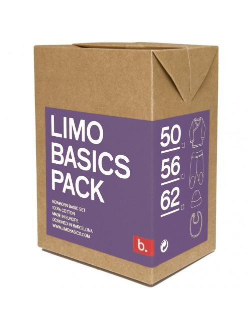Pack primera puesta Limobasics Lila moda bebe recién nacido