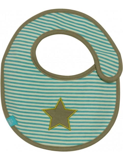 Babero Lassig Small Bib Starlight Verde