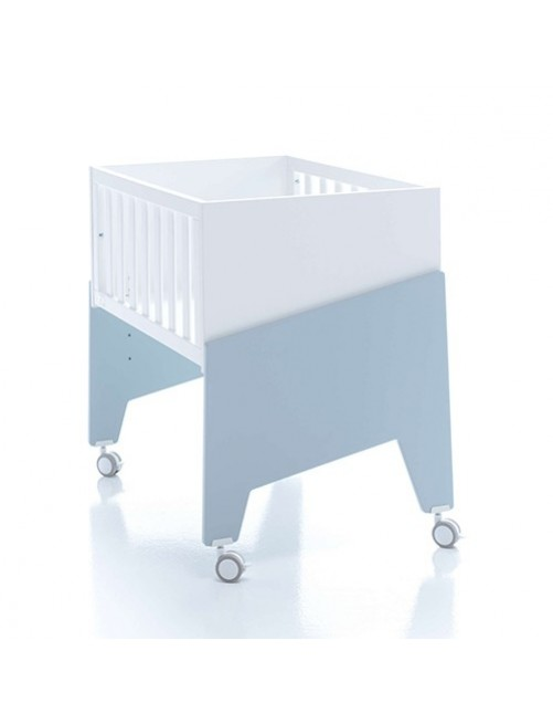 Minicuna de colecho EQUO Alondra (5 en 1) Azul, cuna, bebe, accesorios, puericultura, tienda online, zaragoza