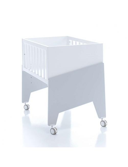 Minicuna de colecho EQUO Alondra (5 en 1) gris, cuna, bebe, accesorios, puericultura, tienda online, zaragoza