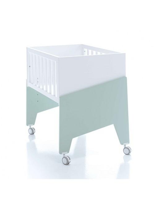 Minicuna de colecho EQUO Alondra (5 en 1) mint, cuna, bebe, accesorios, puericultura, tienda online, zaragoza