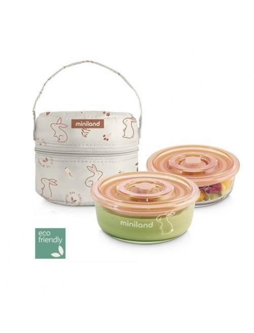 Miniland-pack-2-go-to-naturround-bunny-naranja-set-tupper-tupperware-comida-accesorios-bebes-escofriendly-puericultura-tienda-online-zaragoza