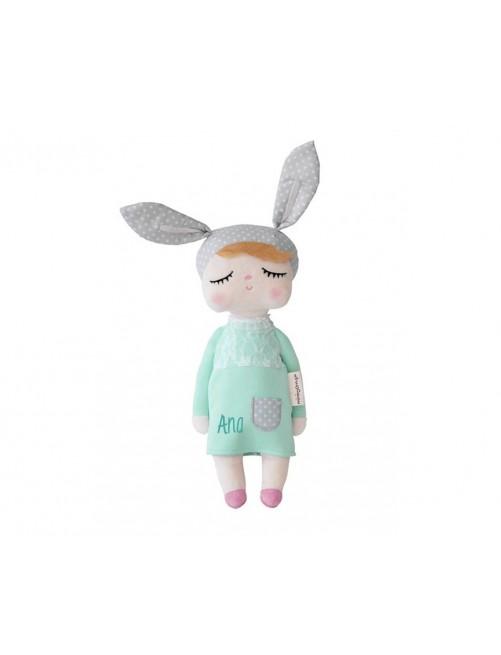 Muñeca Miniroom Menta 42cm adorable peluche suave bebe niña zaragoza