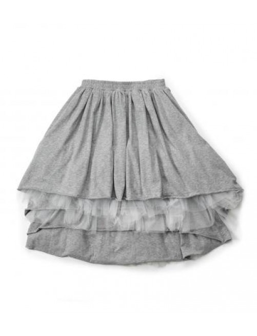 Falda Layered Tulle Grey Nununu Moda infantil alternativa zaragoza