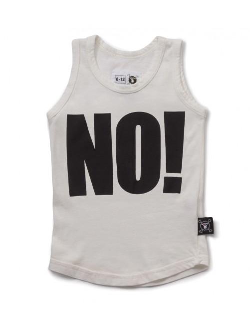 Camiseta Nununu No! Tank Top White