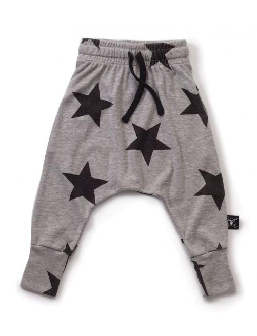 Pantalon Nununu Star Baggy Pants Grey