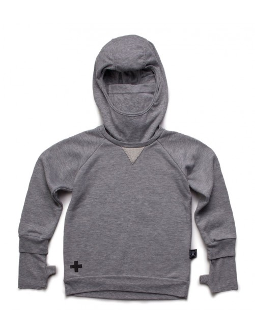 Sudadera Nununu Ninja Sweatshirt Heather Grey