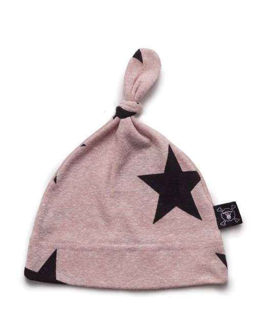 Gorro Nununu Star Hat Powder Pink