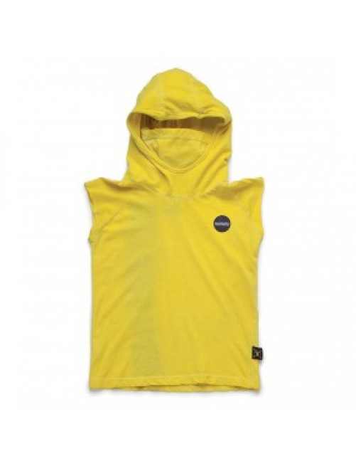 Camiseta Nununu Hooded Ninja Yellow