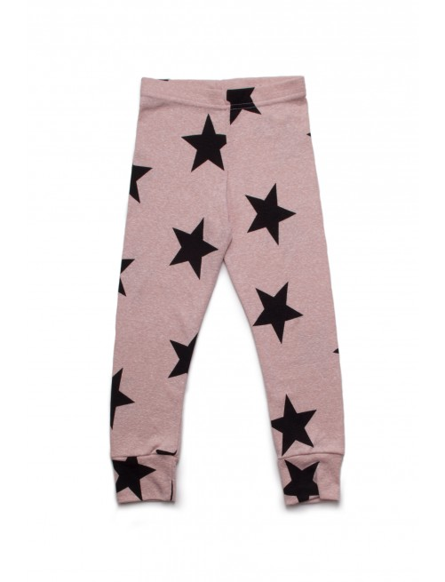 Leggings Nununu Star Powder Pink