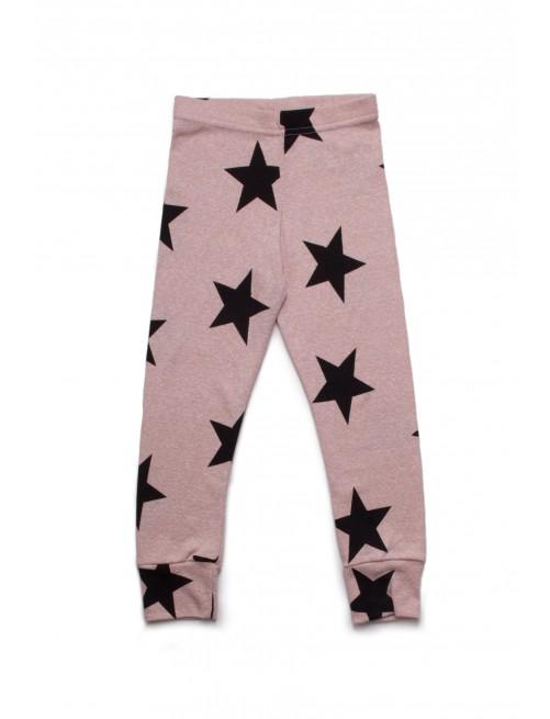 Leggings Nununu Star Powder Pink