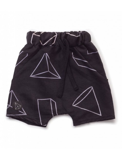 Bañador Nununu Geometric Baggy Surf Shorts Black