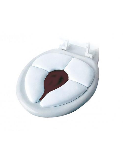 Asiento Reductor WC Acolchado Plegable Blanco Olmitos niños zaragoza