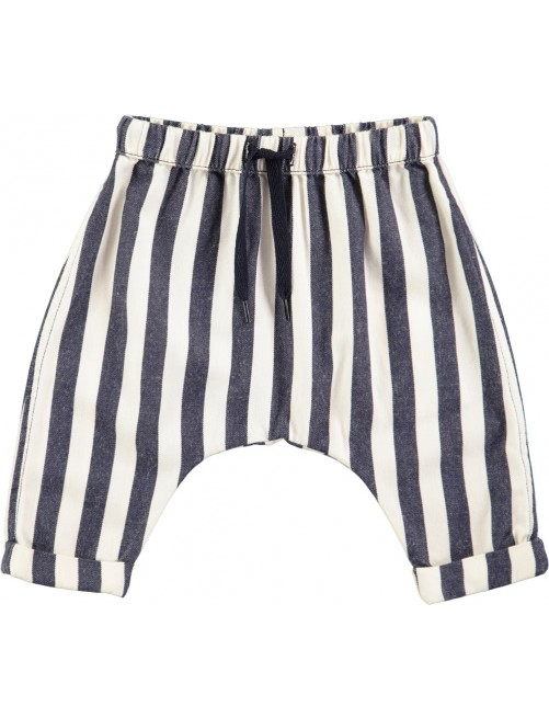 Pantalon Molo Kids Sim Indigo Stripe modainfantil-zaragoza_bebe_Print-ecologico_Algodon_organico