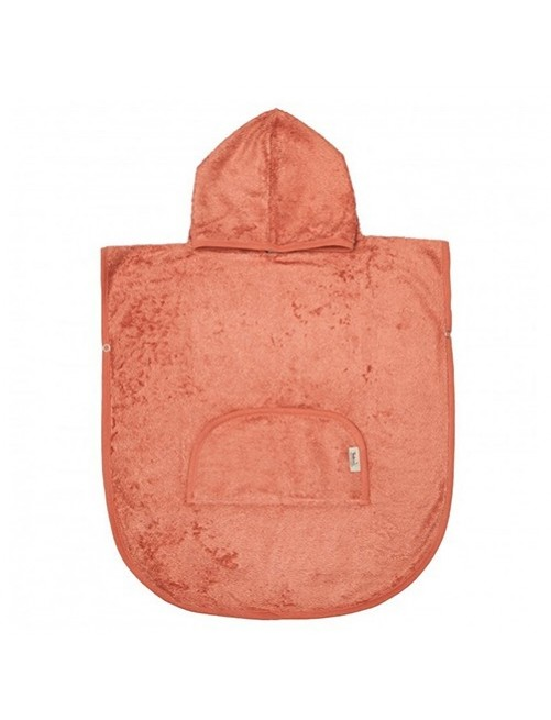 Poncho-Timboo-Apricot-Blush-Bamboo-Bebes-accesorios-Baño-Soft-Puericultura-Tienda-Online-Zaragoza