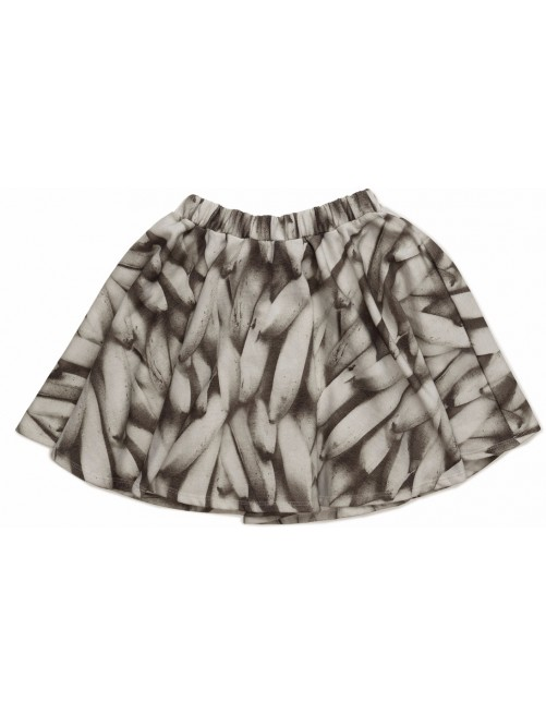 Falda Popupshop Circle Base Skirt Banana