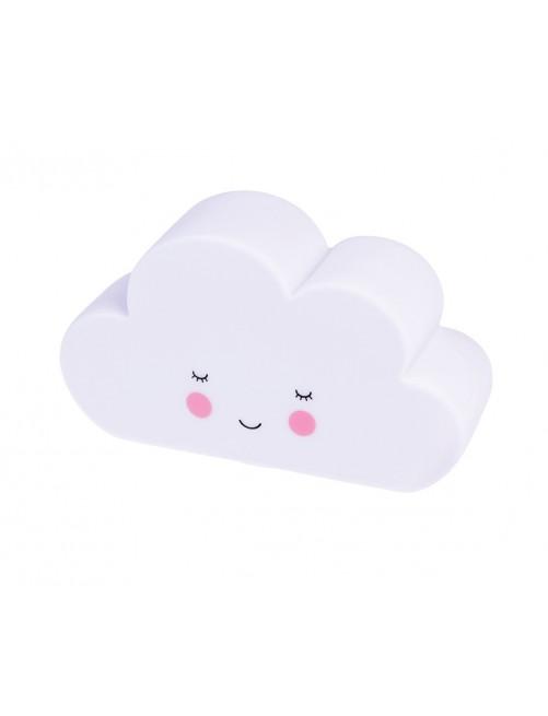 Lampara Quitamiedos Nube Blanca RI Habitacion Bebe Luz Puericultura Zaragoza