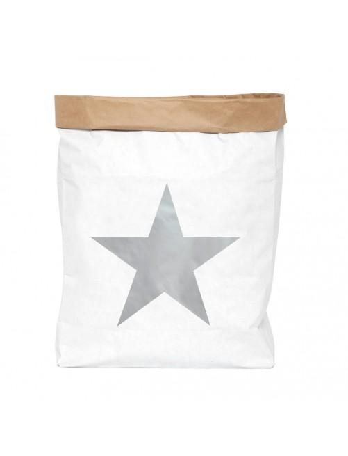 Saco Organizador Mini Be-Nized Bags Estrella Plata Juguetes habitacion niños