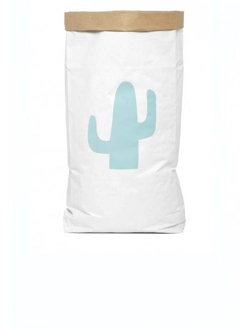 Saco Organizador Be-Nized Bags Cactus Juguetes Habitación Niños cactus_menta