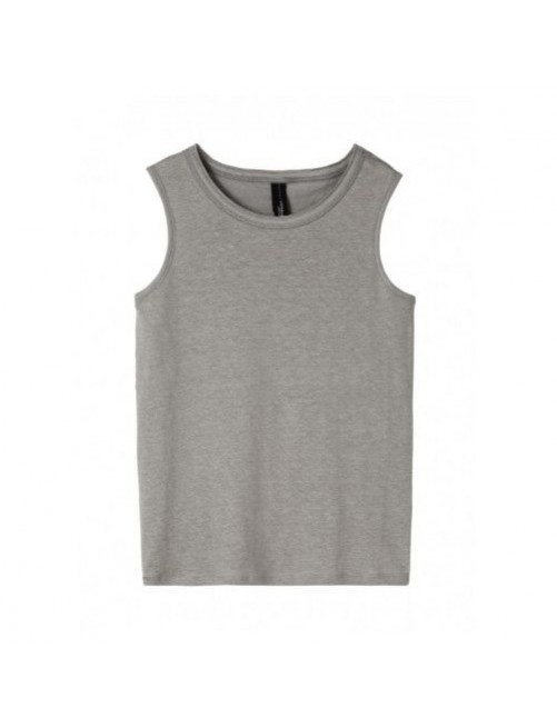Camiseta Tirantes Singlet 10Days Soft Grey  moda infantil zaragoza modacasual alternativa tienda moda infantil  zaragoza