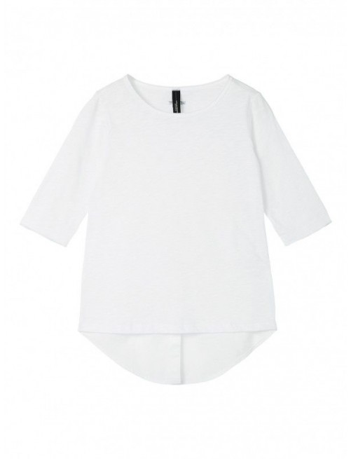 Camiseta Blanca Smoking Shirt 10Days  moda infantil zaragoza modacasual alternativa tienda moda infantil  zaragoza