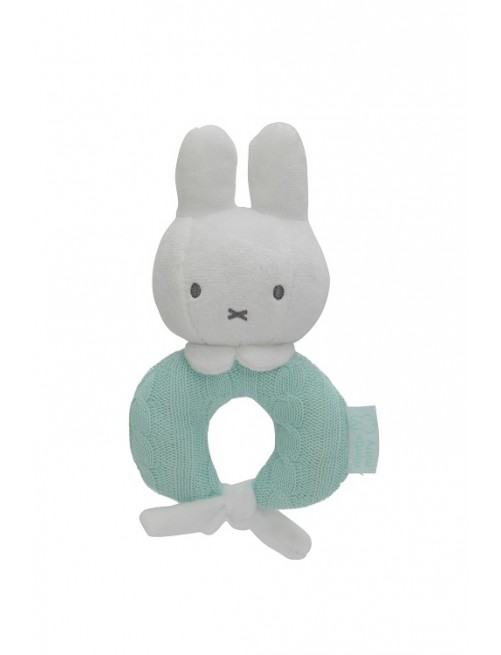 Sonajero Miffy Mint Menta bebe puericultura recien nacido