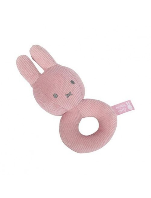 Sonajero-miffy-rosa-olmitos-bebe-accesorios-puericultura-tienda-online-zaragoza