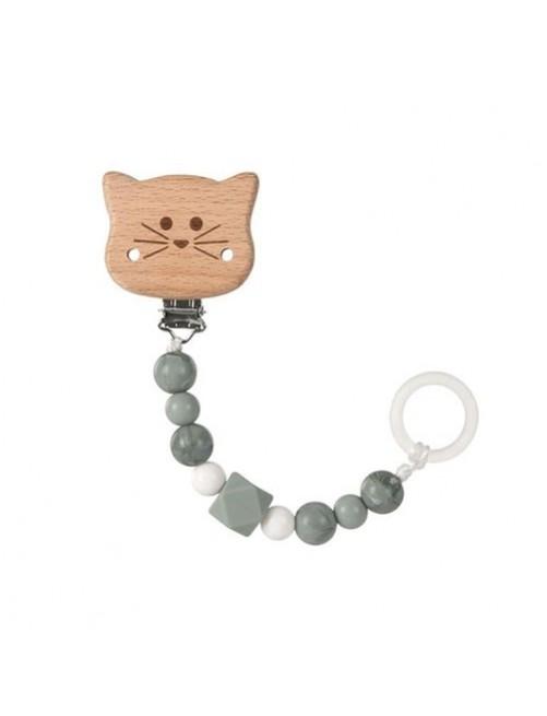 sujetachupetes-silicona-madera-cat-gris-lassig-olmitos-bebe-accesorios-puericultura-tienda-online-zaragoza