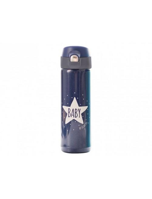 Termo Liquidos Baby Star Blue Navy 500ml Olmitos puericultura liquido biberon bebe