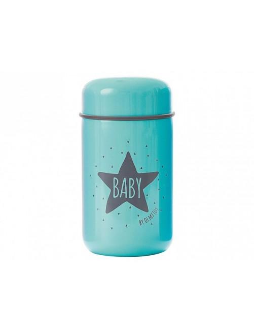 Termo Papillero Baby Star Blue 400ml Olmitos Puericultura Comida Bebe solidos