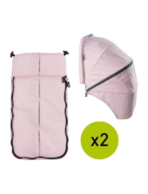 Textil-Cubrepies-Capota-Silla-Gemelar-VenTwin-Niu-Blush-Bebe-Carro-Tienda-Zaragoza-Puericultura-Online-Mama