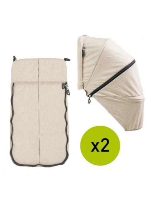 Textil-Cubrepies-Capota-Silla-Gemelar-VenTwin-Niu-Desert-Bebe-Carro-Tienda-Zaragoza-Puericultura-Online-Mama