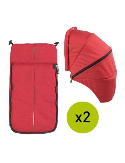 Textil-Cubrepies-Capota-Silla-Gemelar-VenTwin-Niu-Flame-Bebe-Carro-Tienda-Zaragoza-Puericultura-Online-Mama
