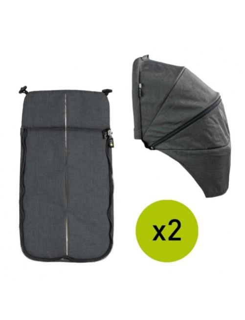 Textil-Cubrepies-Capota-Silla-Gemelar-VenTwin-Niu-Night-Bebe-Carro-Tienda-Zaragoza-Puericultura-Online-Mama