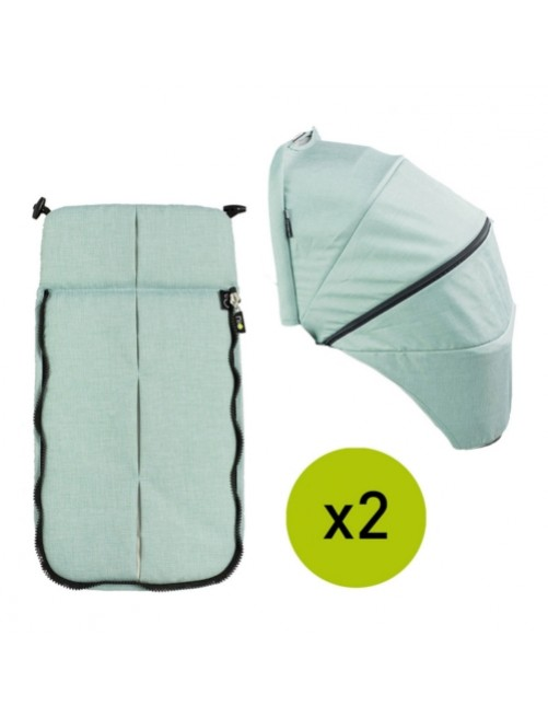 Textil-Cubrepies-Capota-Silla-Gemelar-VenTwin-Niu-Pepperm-Bebe-Carro-Tienda-Zaragoza-Puericultura-Online-Mama