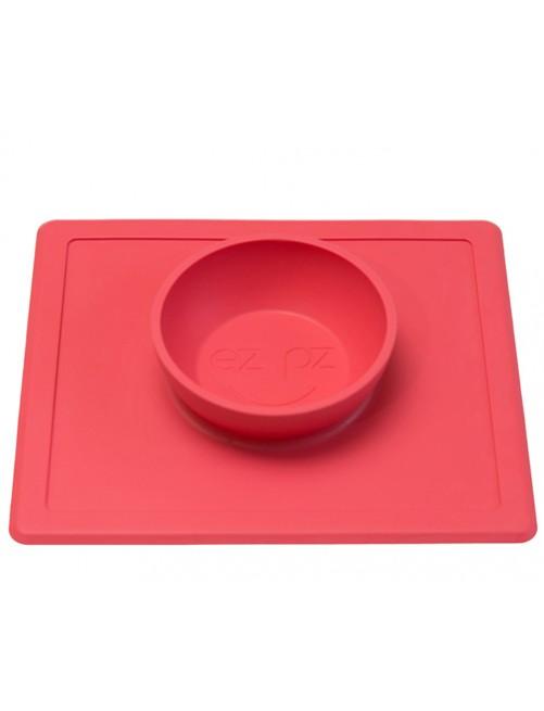 The-Happy-Bowl-Coral-EzPz-BwL-comida-Bebe-Accesorios-Puericultural