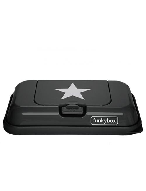 Dispensador FunkyBox To Go Gris Oscuro Estrella