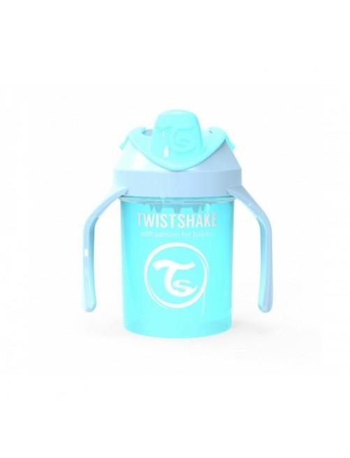 Vaso Aprendizaje Twistshake 230ml Azul Pastel  Puericultura Zaragoza Bebe Antigoteo