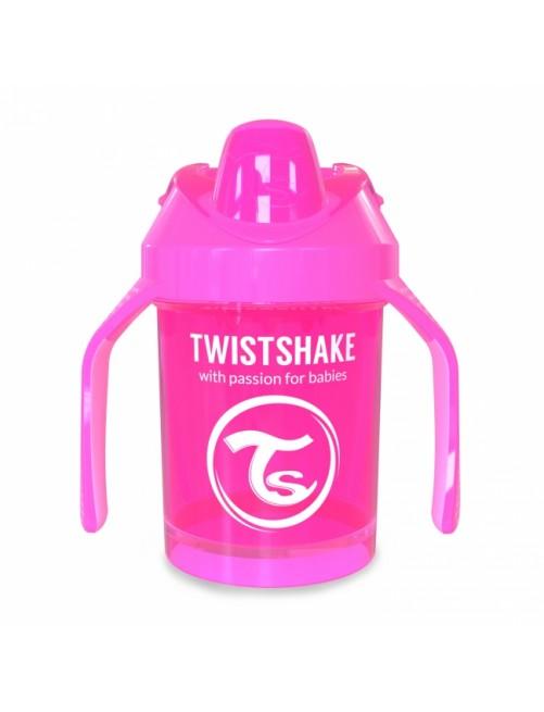 Vaso Aprendizaje Twistshake 260ml Rosa neon pink